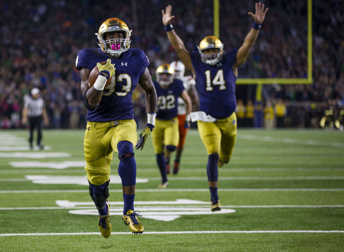 Post Bye Week, Let's Take a Look at Where Notre Dame Sits in the College Football Picutre