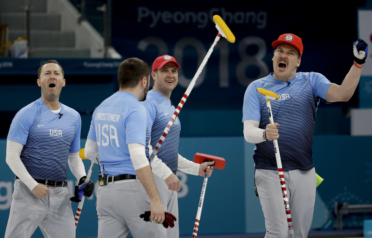 At 1:35am Tonight, the USA Men's Curling Team Will Make History